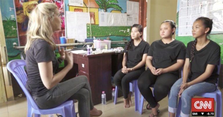 Child trafficking in Cambodia   Child trafficking